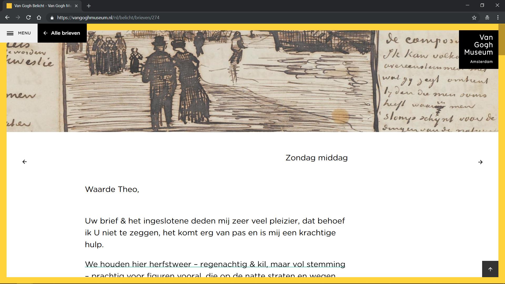 Website Van Gogh belicht gebouwd door Q42
