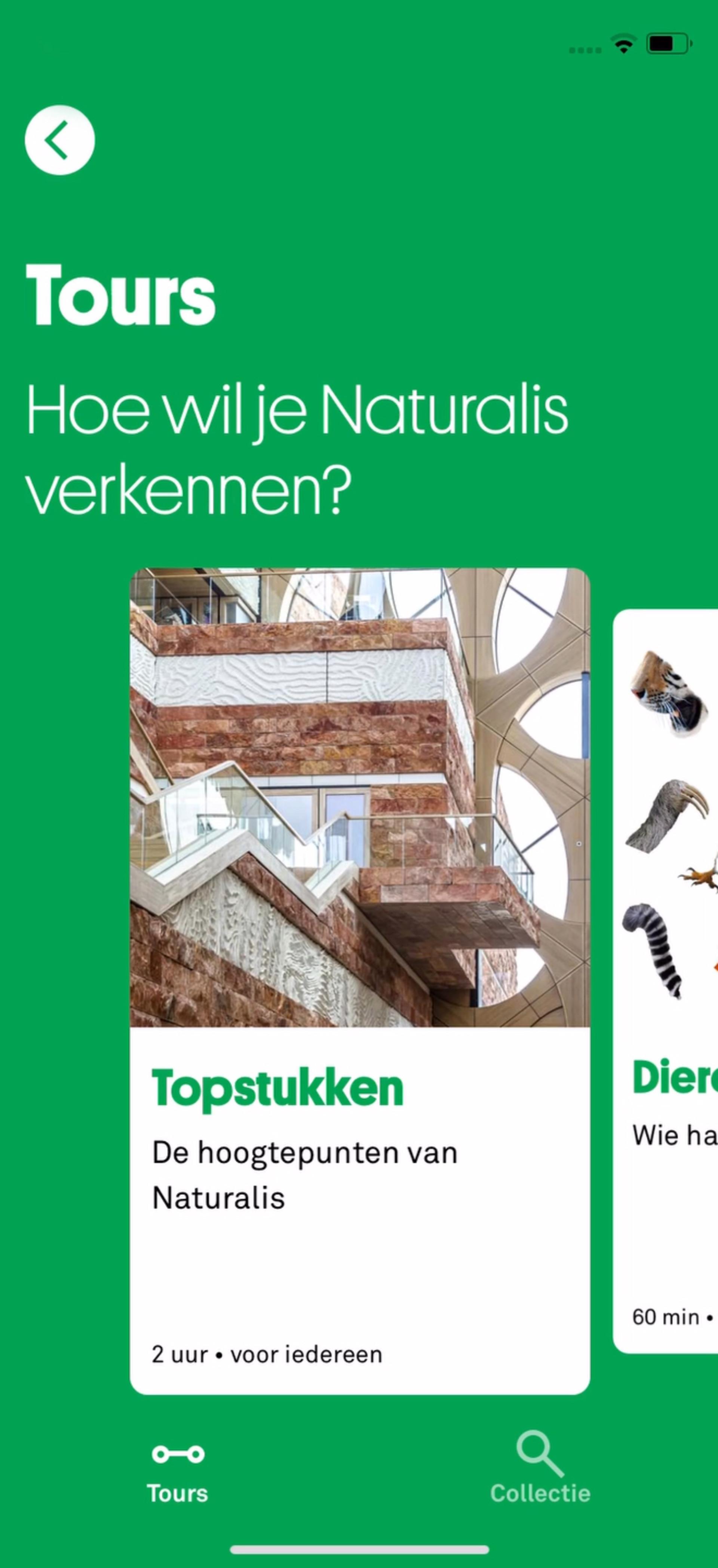 Naturalis museumapp (iOS)