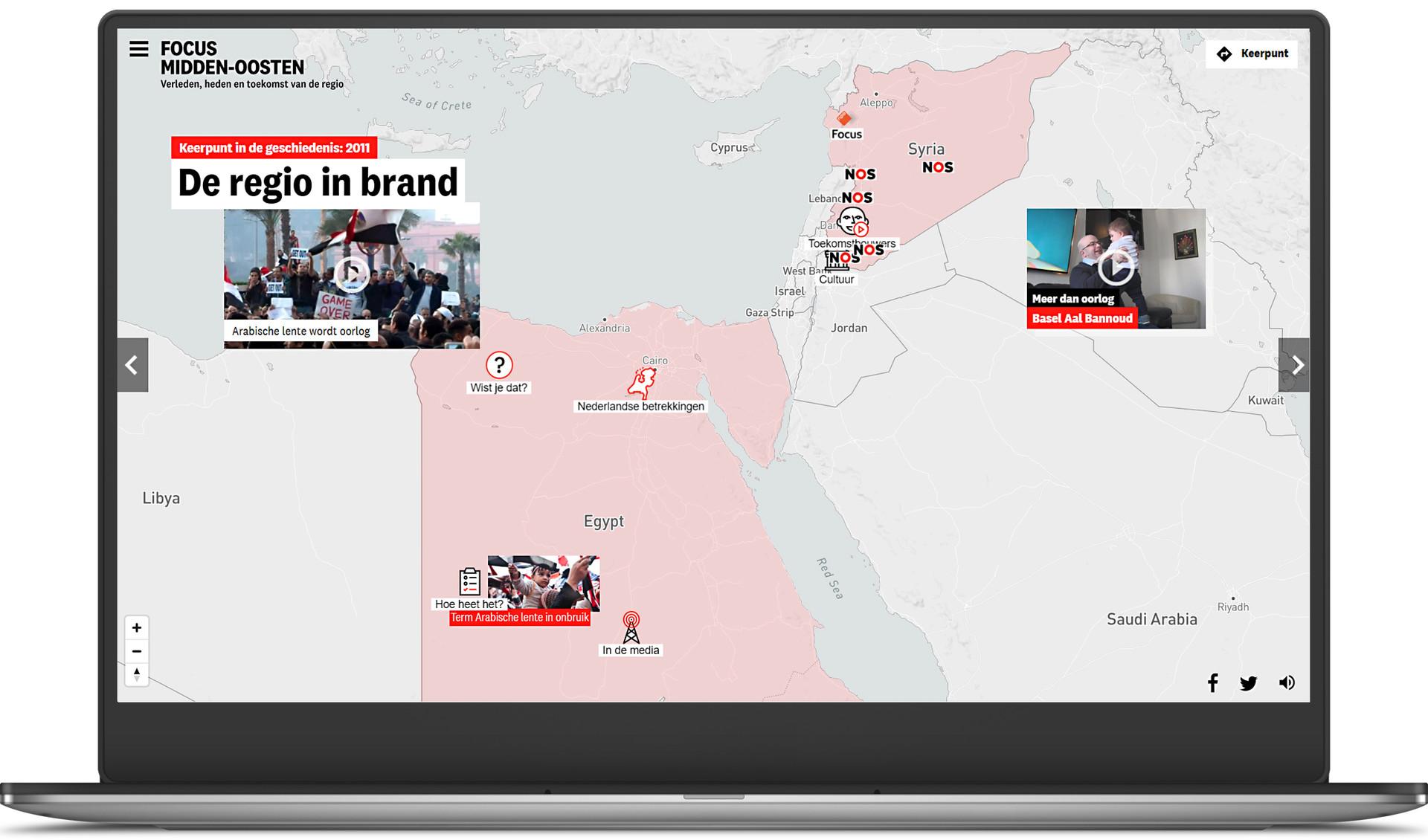 Website over het Midden-Oosten voor de NTR