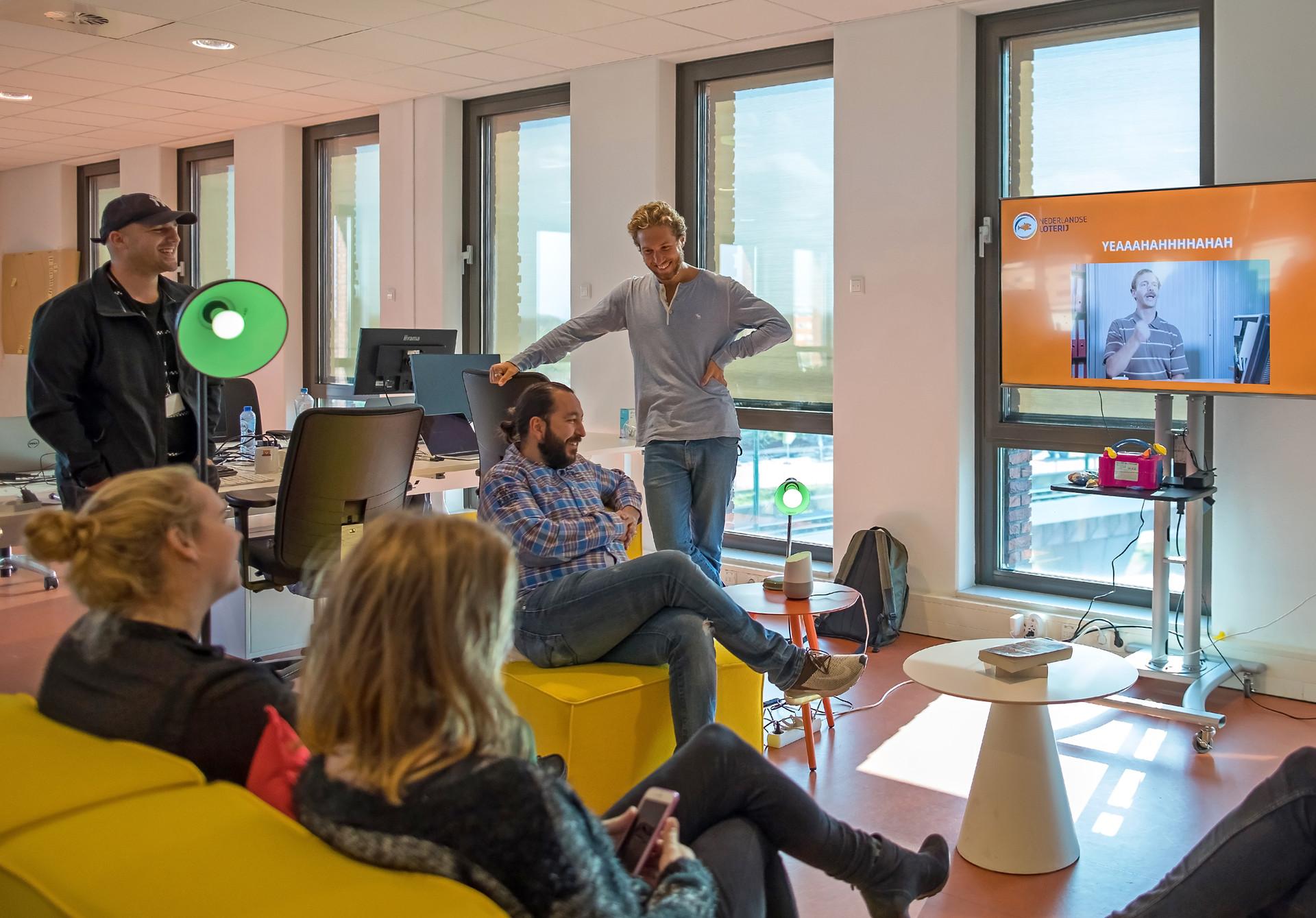 Q42-jumpstart met Google Assistant bij Nederlandse Loterij