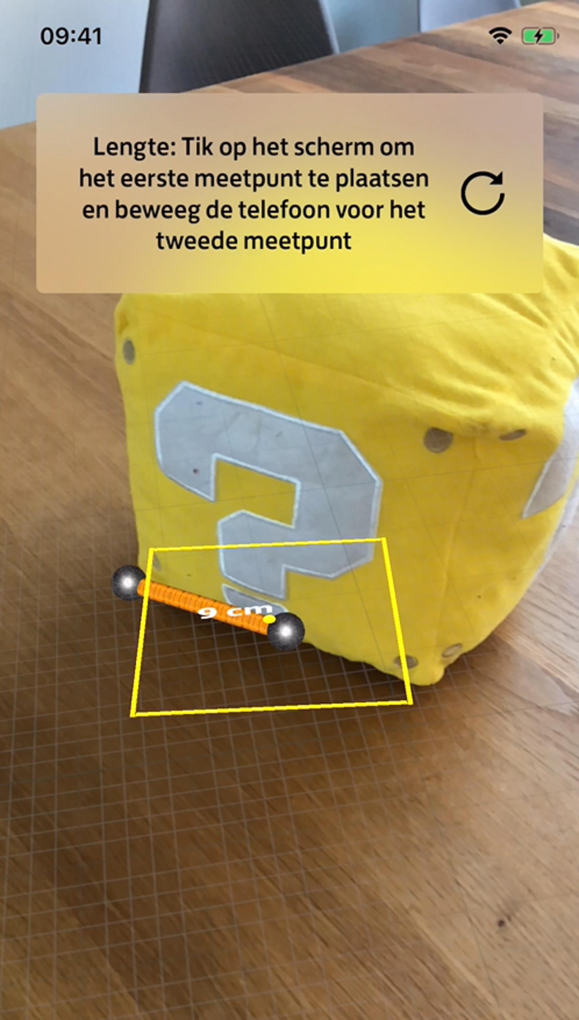 PostNL-prototype om pakjes op te meten