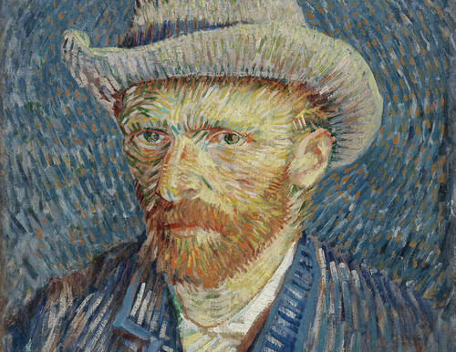 Vincent van Gogh, Zelfportret met grijze vilthoed
